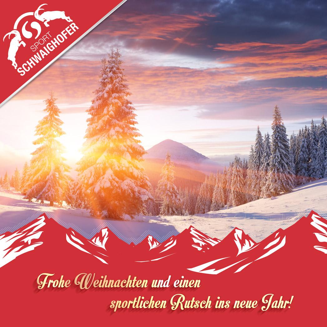 Frohe Weihnachten An Alle.Frohe Weihnachten Und Alles Gute Fur 2018 Sport Schwaighofer